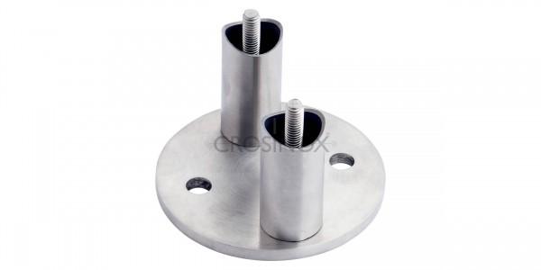 Wandanker rund 42,4mm - V4A