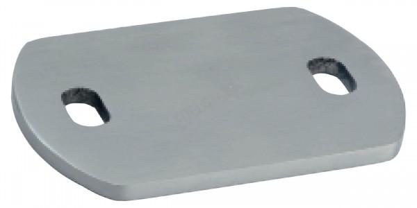 Anschweißplatte 120 x 60 / 80mm - V2A