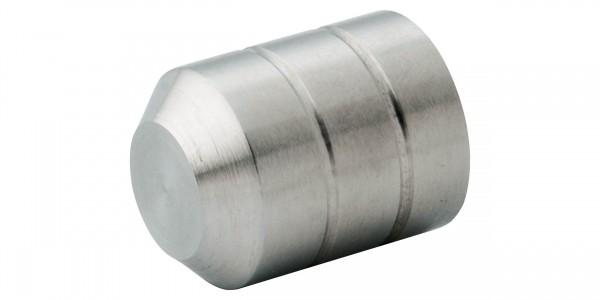 Zierkappe für Rohr 12,0mm - V2A